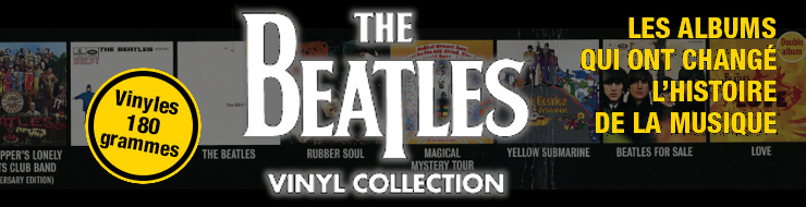 Nouvelle collection The Beatles - Vinyl Collection