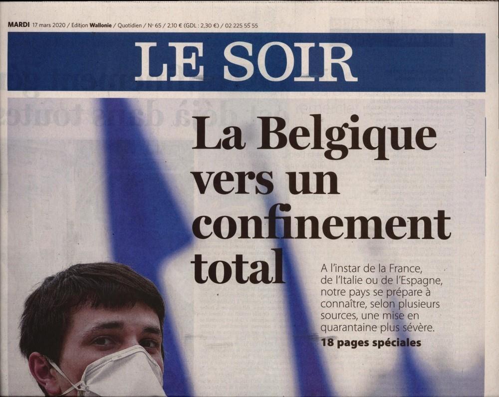 Le Soir de Bruxelles