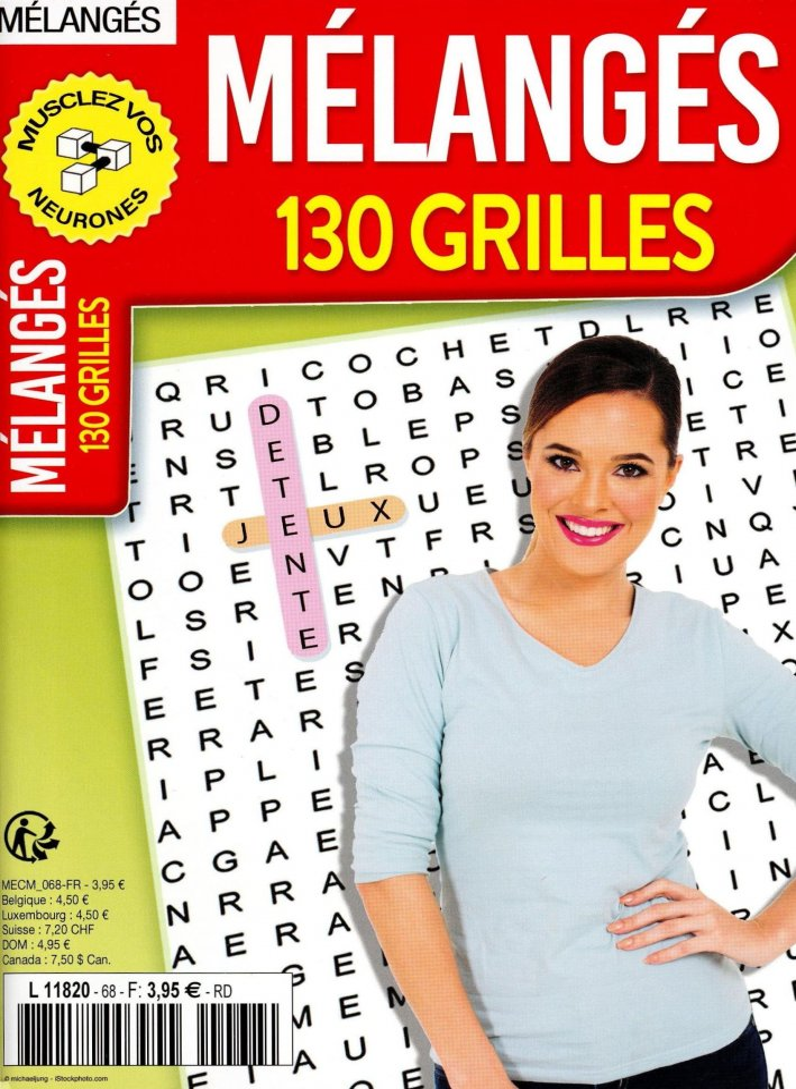 PJ Mélangés 100 Grilles