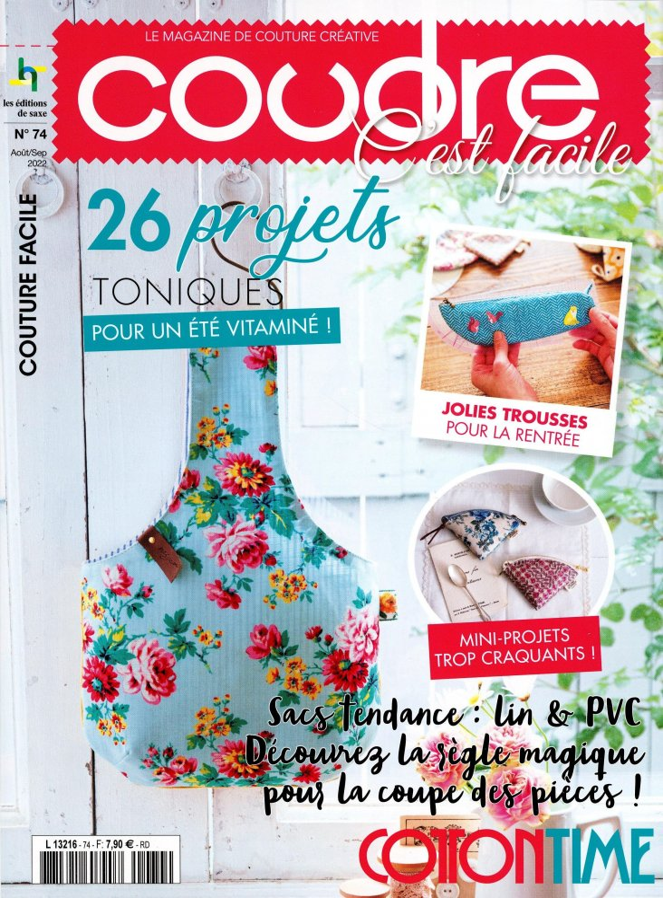 Mon Atelier Couture SAL Un petit bout de fil L3216