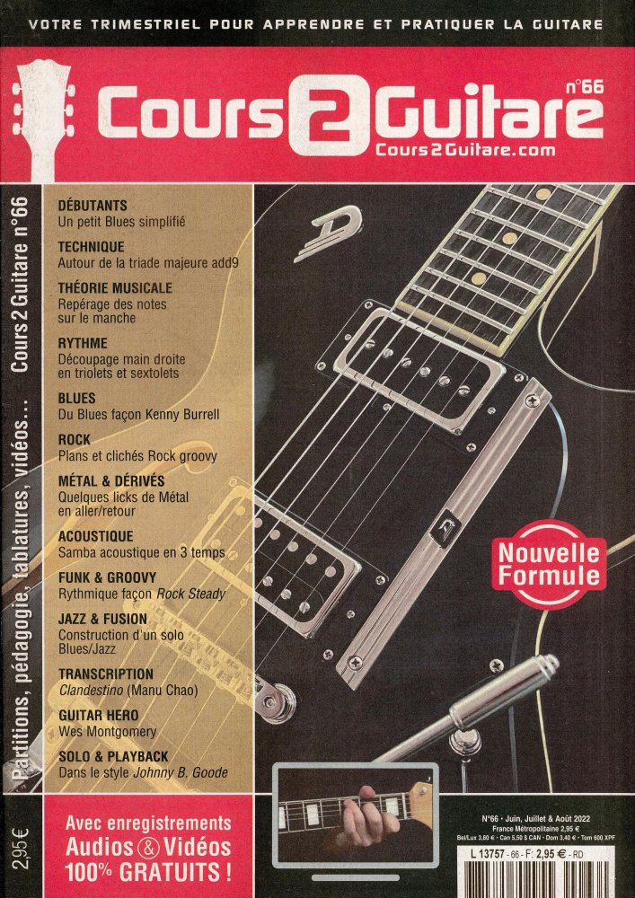 Cours 2 Guitare