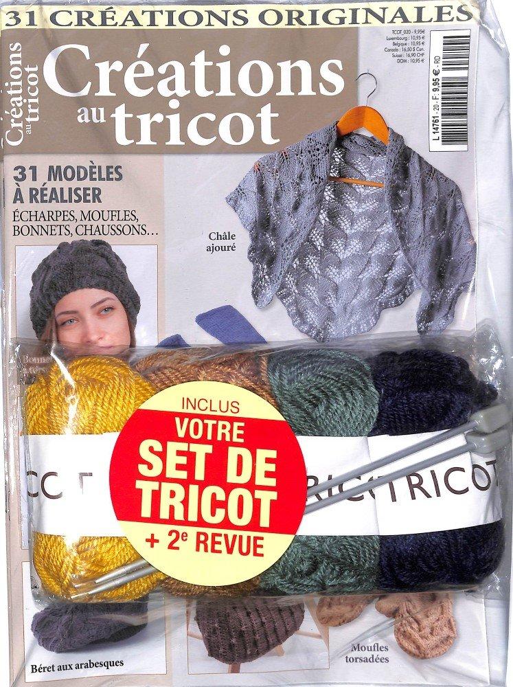 Créations au tricot + 2ème Revue + Set de Tricot