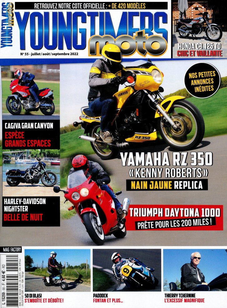 YougTimer Moto @T 650 Marathon L5259
