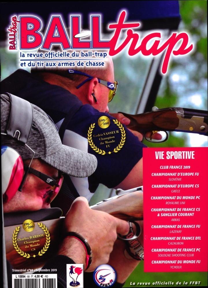 Ball trap magazine