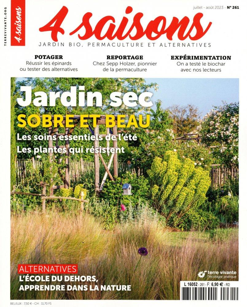 Les Quatre saisons du jardin bio n°229 de mars-avril 2018