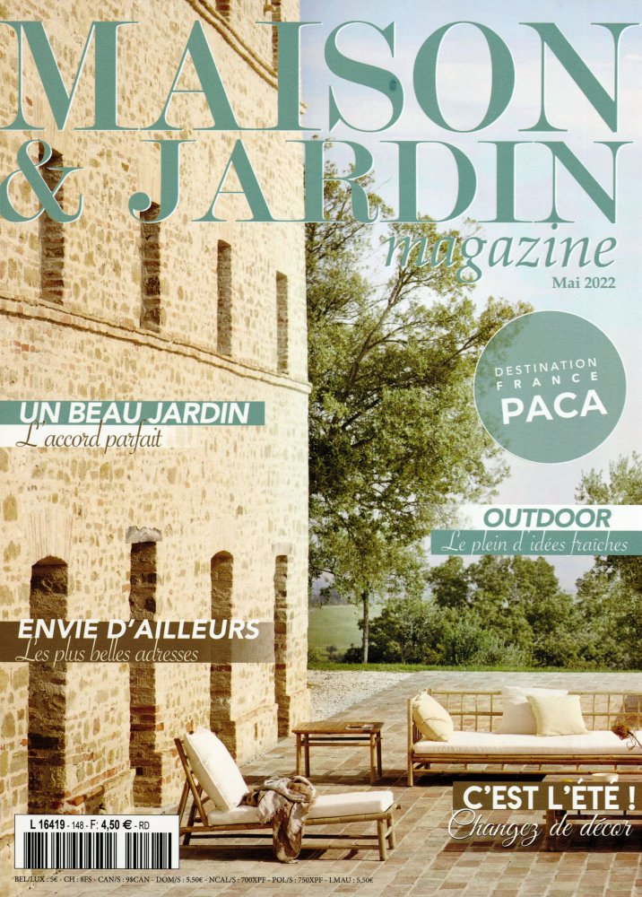 maison jardin magazine. Black Bedroom Furniture Sets. Home Design Ideas