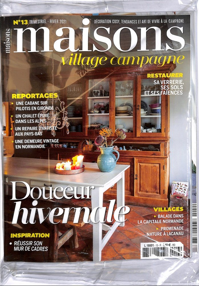 Maisons village campagne for Magazine deco maison