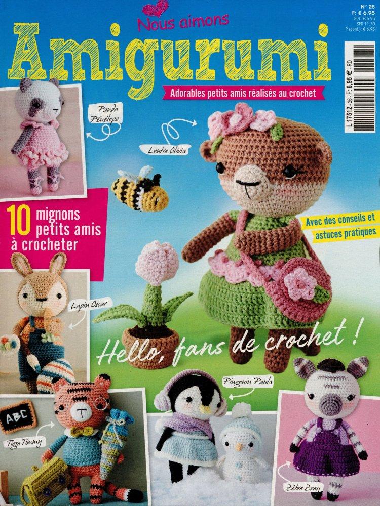 Magazine De Crochet : On Aime les Amigu... N? 2 du 14 avr 2016 L7512