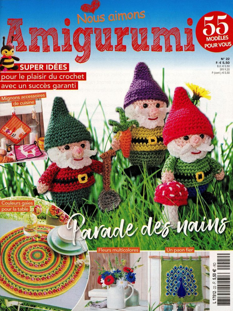 Petites Magazine Amigurumi : www.journaux.fr - On Aime les Amigurumi
