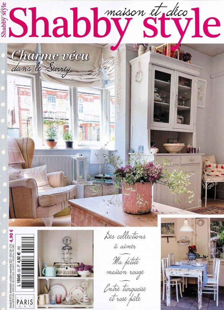maison et d co shabby style. Black Bedroom Furniture Sets. Home Design Ideas