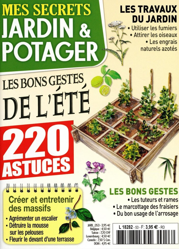 Mes Secrets Jardin & Potager