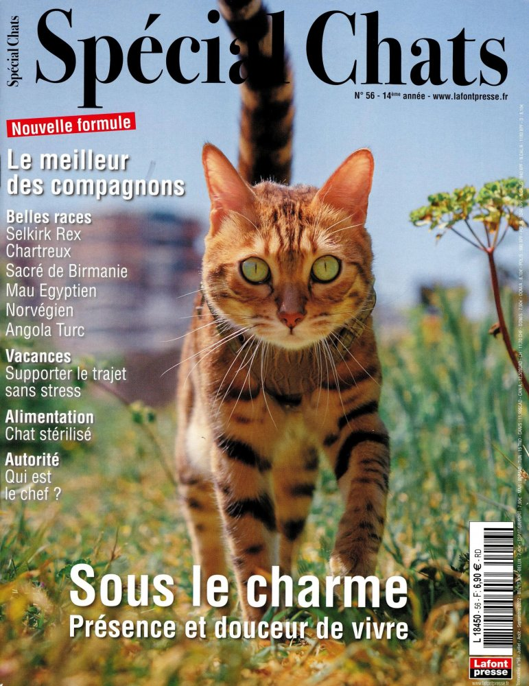 Special Chats N°17 - Aout - Septembre - Octobre - 2012   [PDF l MULTI]