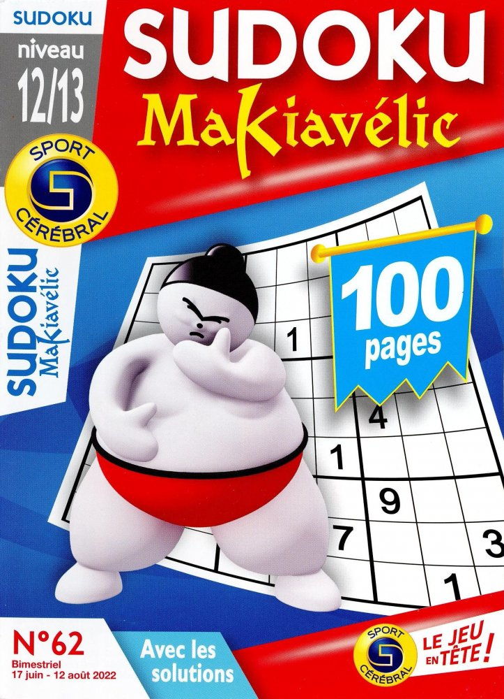 SC Sudoku Makiavélic Niveau 12/13