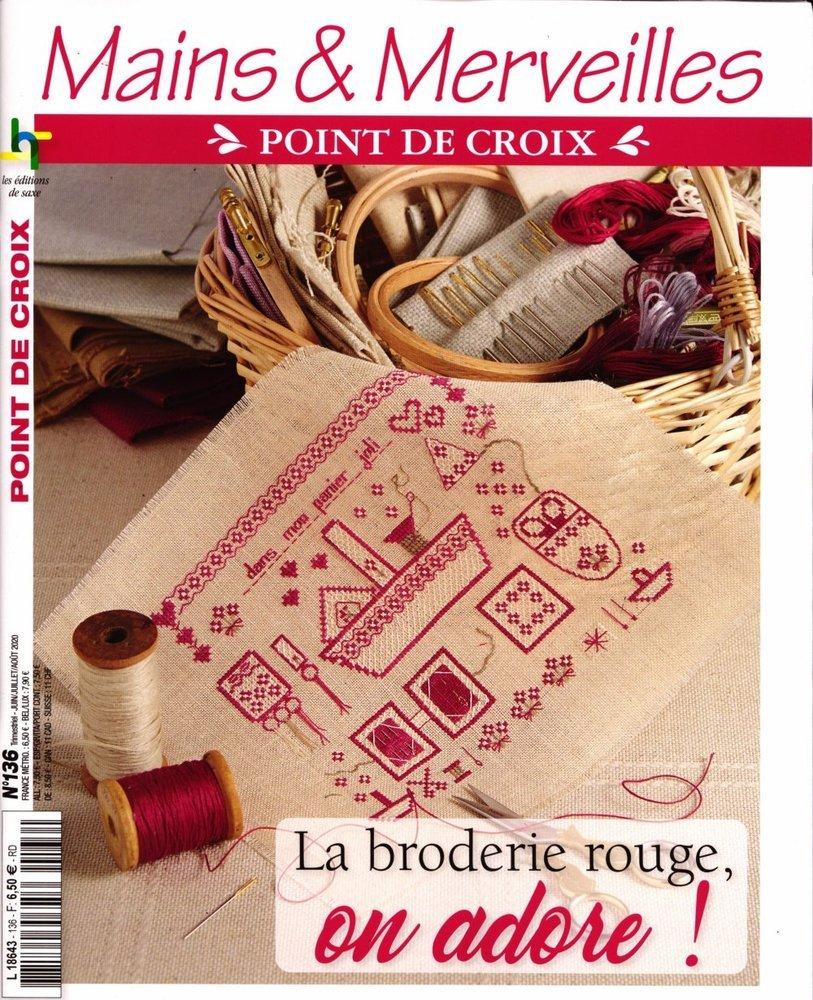 www.journaux.fr - Mains & Merveilles Point de Croix