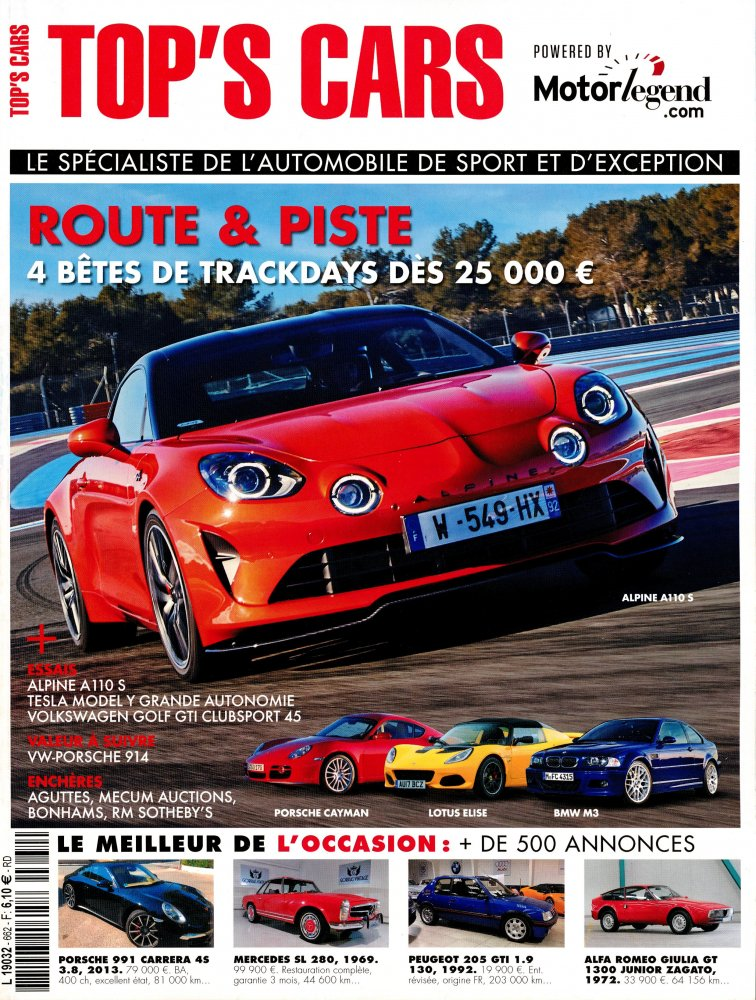 Top's Cars 546 - Aout 2012  [PDF l DF]