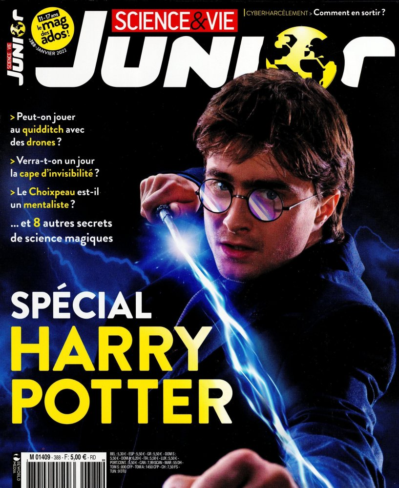 Science et vie Junior 325 - Octobre 2016