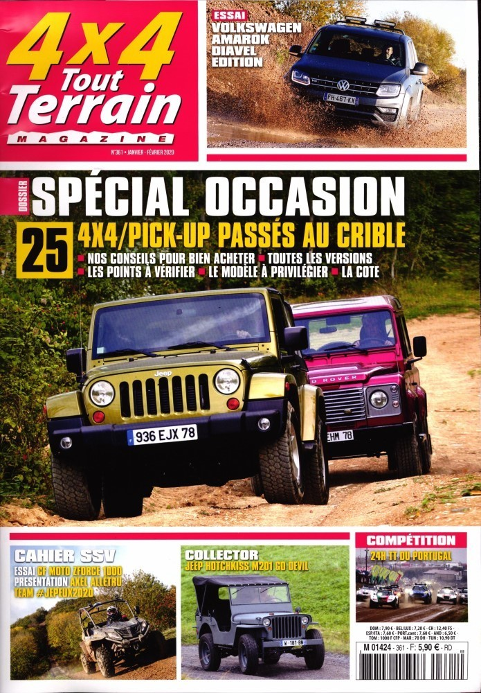 4x4 tout terrain magazine. Black Bedroom Furniture Sets. Home Design Ideas