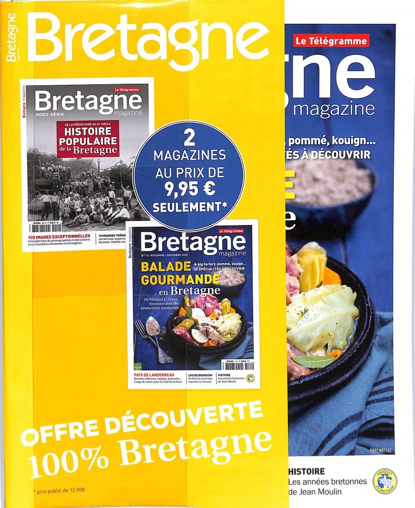 Pack Bretagne 2 Magazines