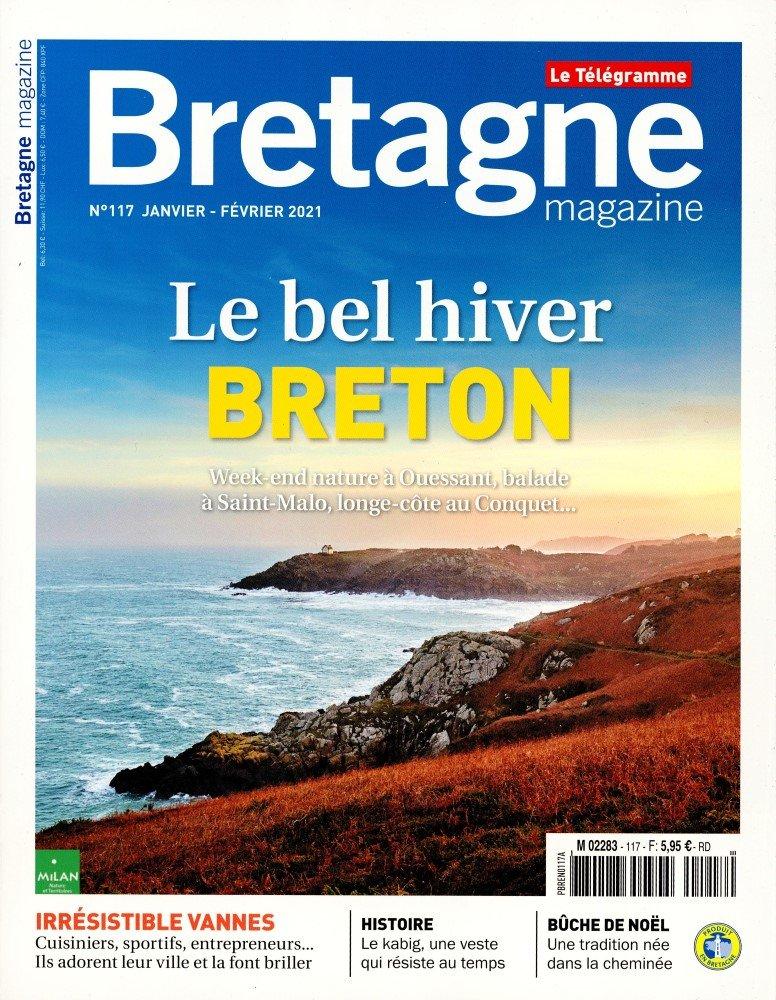 Bretagne magazine 103 (01/09/2018) : Au bonheur de Concarneau, nos coups de coeur pour découvrir la Ville Bleue