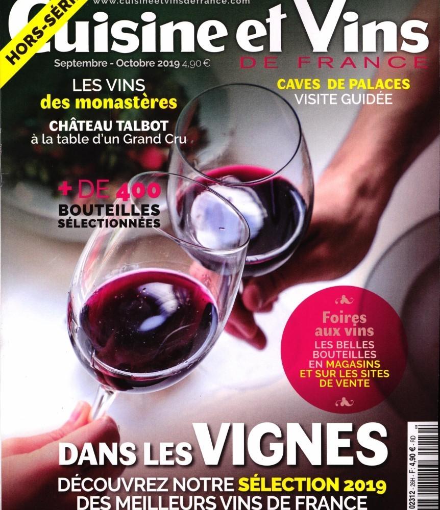 Cuisine et Vins de France Hors-Série Vins