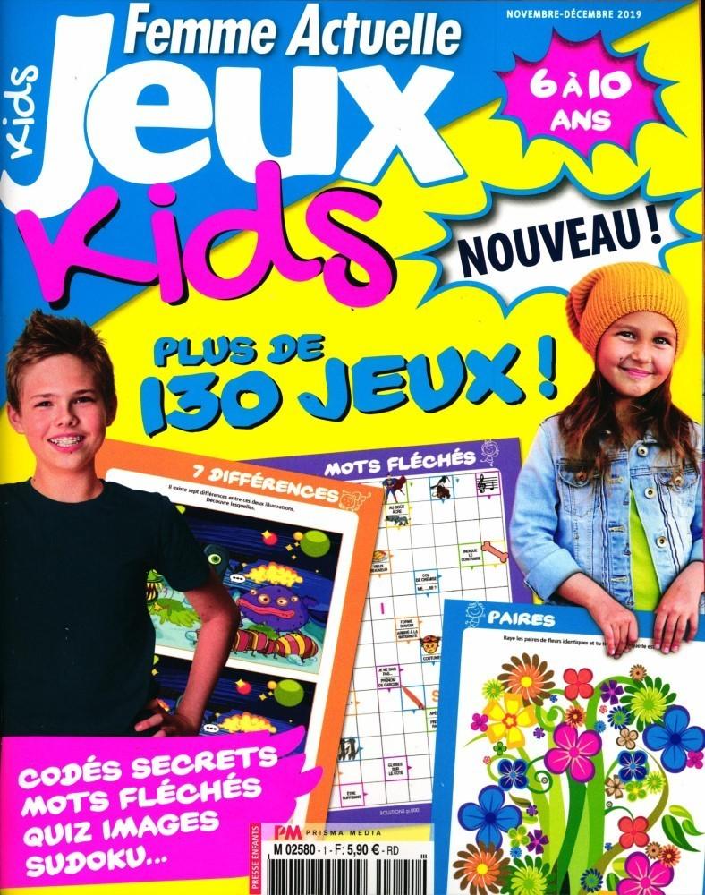 www.journaux.fr - Femme Actuelle Jeux Kids