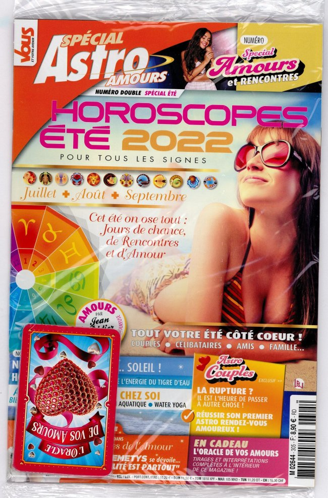 vous et votre avenir magazine horoscope