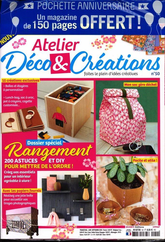 atelier d co cr ations 2 me magazine. Black Bedroom Furniture Sets. Home Design Ideas