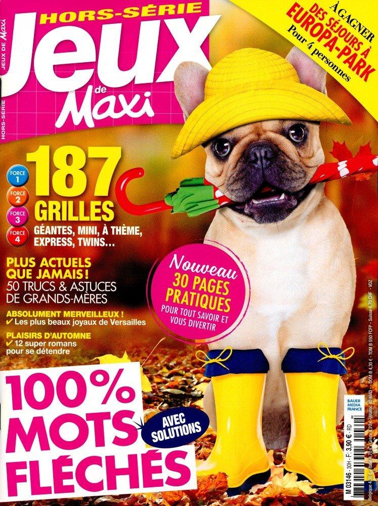 Les jeux de maxi hors s rie for Maxi hors serie cuisine