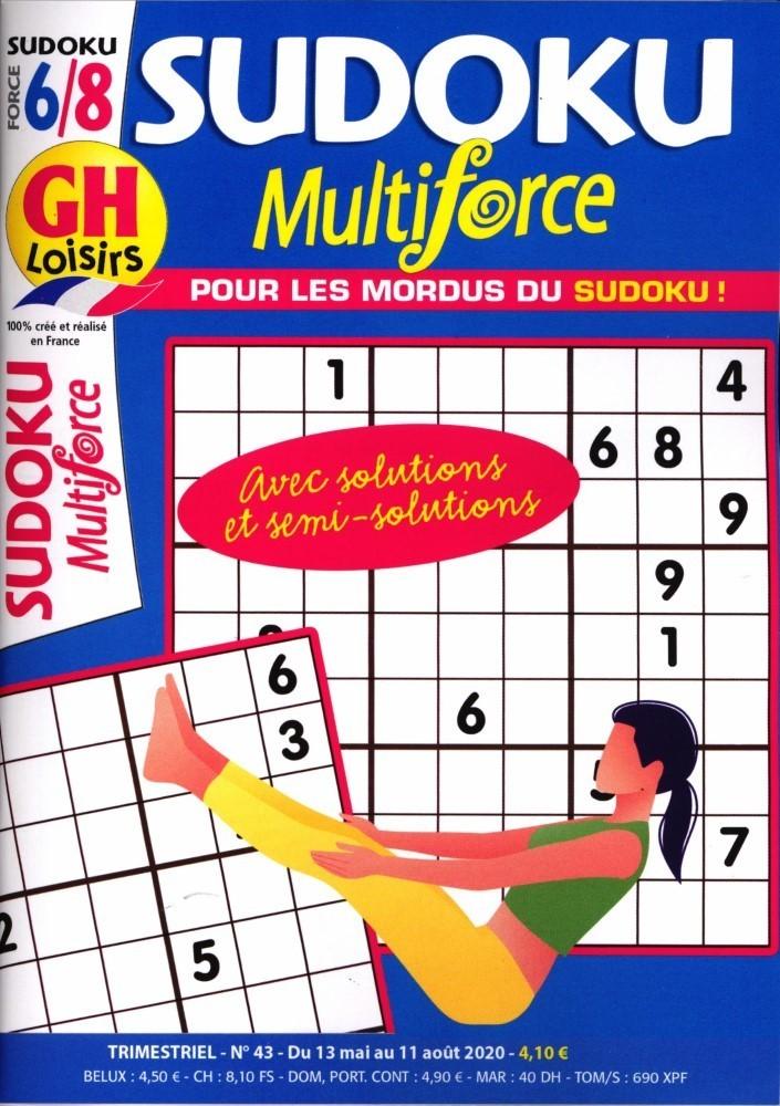 GH Sudoku Multiforce Niveau 5-9