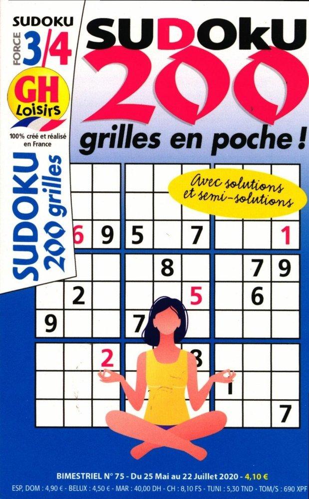 GH-Sudoku 200 grilles niv 3/4