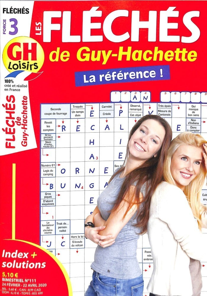 GH Les fléchés de Guy-Hachette (force 3)