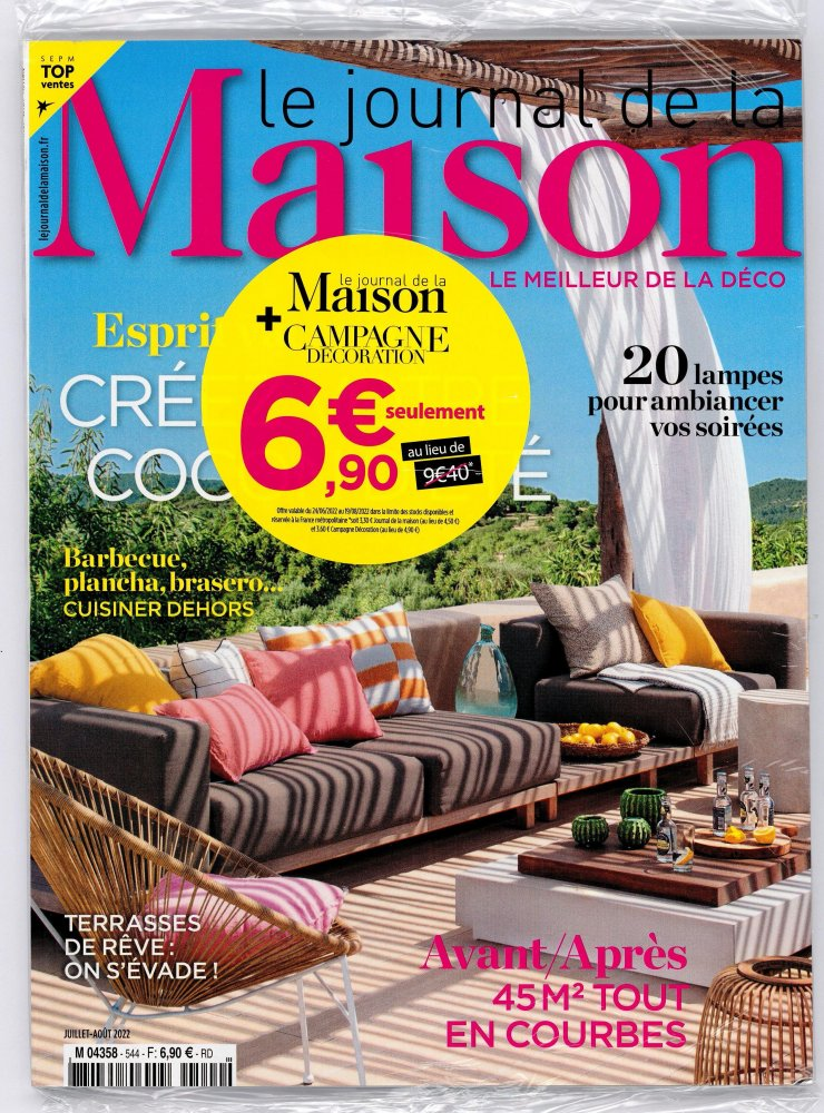 Le journal de la maison campagne for Abonnement le journal de la maison