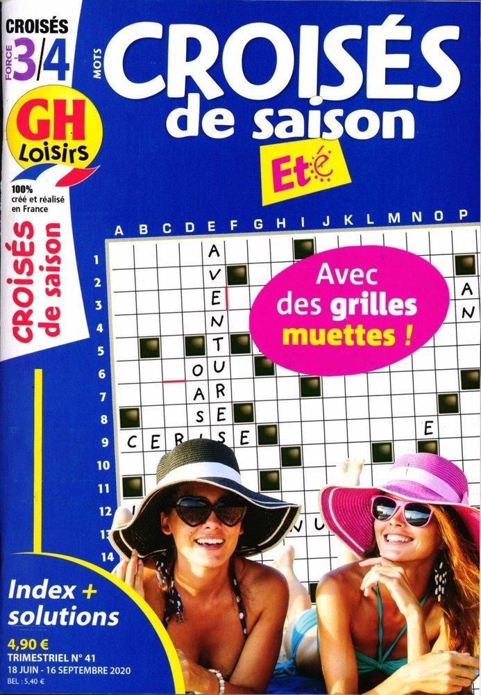 GH Mots Croisés de Saison Niv 3/4