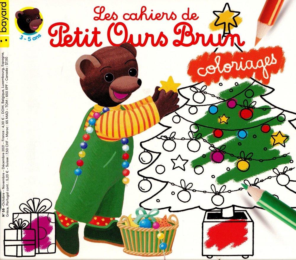 Les Cahiers de Petit Ours Brun Coloriages