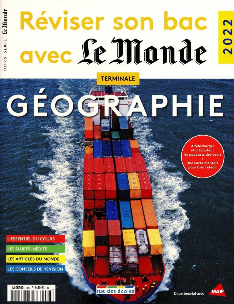 Réviser son Bac Géographie Le Monde Hors-série