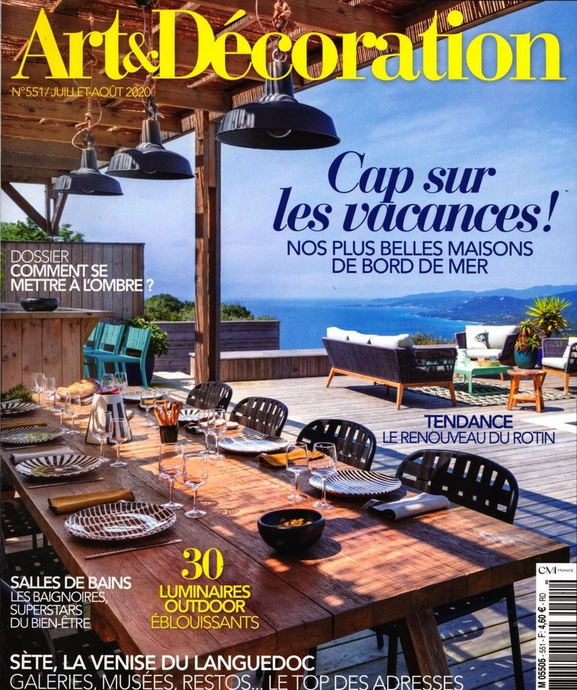 Art d coration for Art et decoration magazine feuilleter