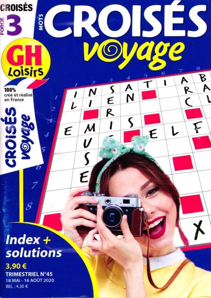 GH Mots croisés voyage niv 3