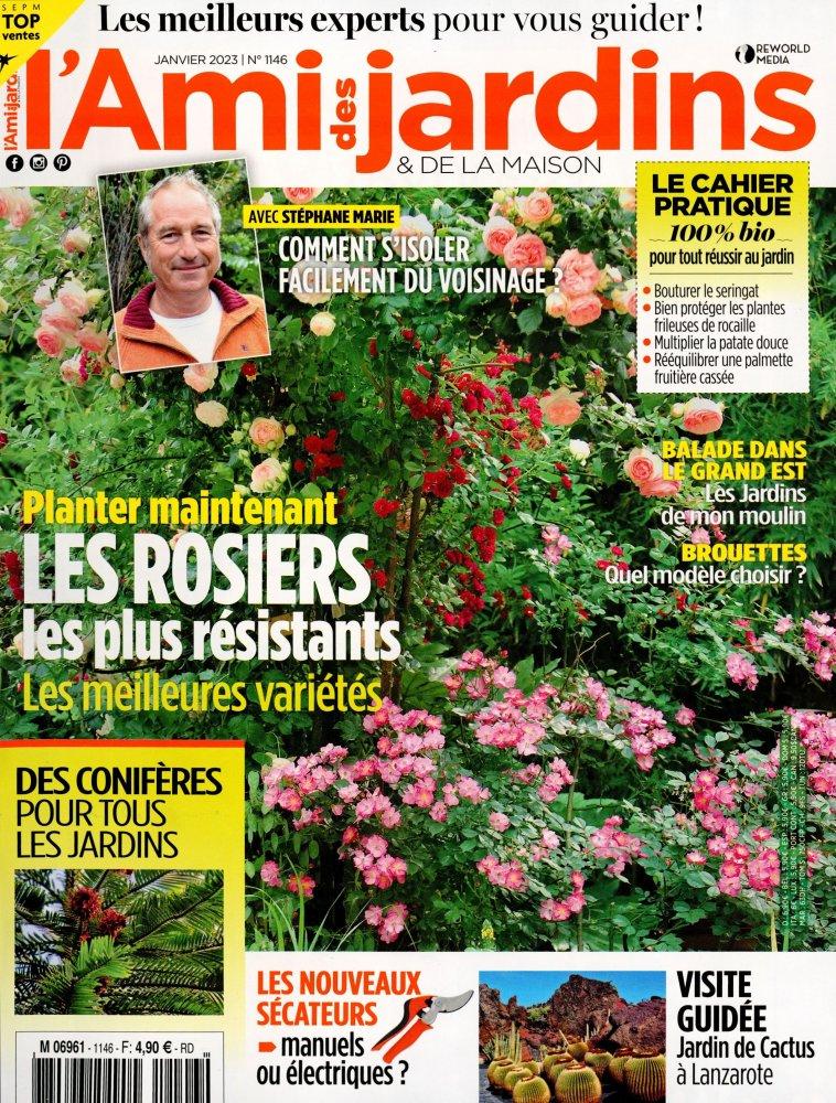 Ami des Jardins n°1094 de septembre 2018 : Les bordures, quelle allure !
