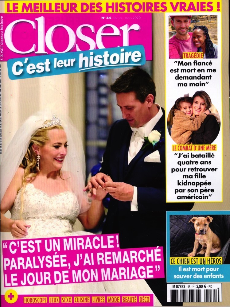 Closer Hors-Série C'est Leur Histoire 4 - Aout 2012 [PDF l MULTI]