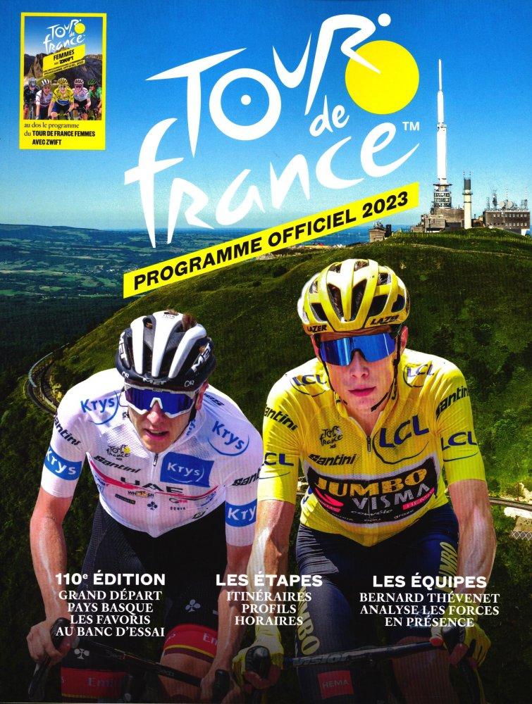 Programme officiel du Tour de France 2017