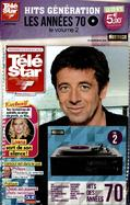 Télé Star + la Collection CD Effet Vinyle Johnny Hallyday