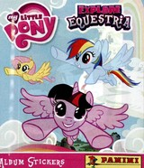 Lot de 5 pochettes vignettes My Little Pony