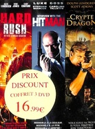 Hard Rush / Hitman / La Crypte du Dragon