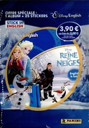 Album + 25 Stickers La Reine des Neiges