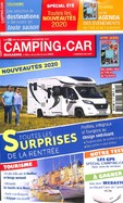 Camping -Car Magazine + Guide Officiel Aires Gratuites