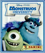 PROMO Lot de 5 Pochettes Vignette Monsters University
