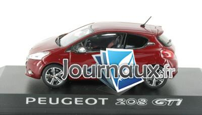 peugeot 208 gti rouge rubis de 2012. Black Bedroom Furniture Sets. Home Design Ideas