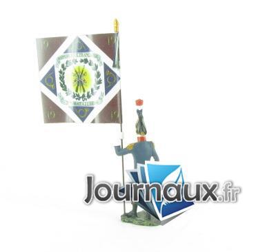 porte drapeau de la 19 me demi brigade d 39 infanterie l g re. Black Bedroom Furniture Sets. Home Design Ideas